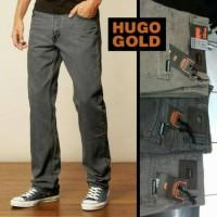 Harga celana jeans import hugo gold premium bukan kw celana jins | Pembandingharga.com