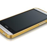 Bumper Love Mei Crossline Metal Kuat Hard Case Cover Casing HTC One M7