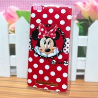 Jual Xiaomi Mi4i / Mi4c - Softcase Casing Custom Fashion Case Minnie Mickey Murah
