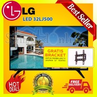 LG 32LJ500D HD LED TV 32 Inch Digital TV Dolby Audio USB Movie HRG PBK