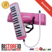 Alat Musik Pianika Superpro Pink Murah Mantap