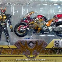 S.I.C Kamen Rider Agito and Machine Tornador - BANDAI