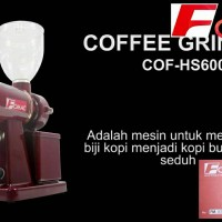 Fomac coffe grinder COG HS600