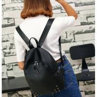 Tas Punggung Backpack Kuliah Anak Wanita Impor Ransel Bagpack Korea