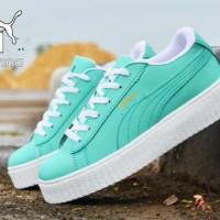 harga Sepatu Wanita Casual Sneakers Puma Rihanna Import Tokopedia.com