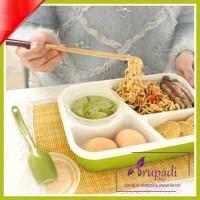 Jual Lunch Box 02 Bisa Masuk Microwave / Kotak Makanan / Tempat Bekal Murah
