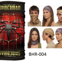 Masker Buff Amazing Spiderman Superhero Marvel Outdoor Multifungsi Baf