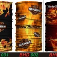 Jual Masker Baff Bandana Harley Davidson Touring Racing Kain Multifungsi Murah