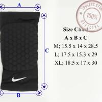 Pelindung Lutut Leg Sleeve Nike with Pad (Short) Knee Pad