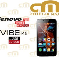 Lenovo Vibe K5 Plus RAM 3GB GARANSI RESMI