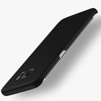 Samsung Galaxy S7 Edge Baby Skin Ultra Thin Hard Case Black 108803
