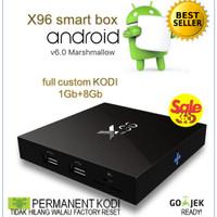 Jual Android Marshmallow TV Box 6 RAM 1Gb ROM 8Gb (FULL CUSTOM KODI) Murah