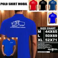 Polo Shirt Otomotif Mobil MITSUBISHI COLT DIESEL SILUET 2/Kaos Kerah