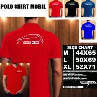 Polo Shirt Otomotif Mobil DATSUN REDI GO SILUET 2/Kaos Kerah/Baju