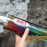 harga Knalpot Racing Byson/tiger/verza/megapro Dbs Rainbow Catalunya Custom Tokopedia.com