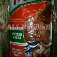 Jual MAKANAN KUCING MURAH MAXI CAT ( Chicken & Tuna ) 1kg 1 kg Murah