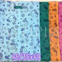 Jual plastik hd oval uk.45/35x50 motif hello kitty Murah