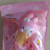 Squishy Ice Cream Cone Melody Super Jumbo