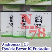 Baterai Andromax C3 Haier Rakkipanda Double Power