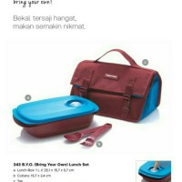 Jual Tupperware BYO bring your own lunch set murah Murah