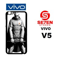 Casing HP VIVO V5 Batman arkham city 5 Custom Hardcase Cover