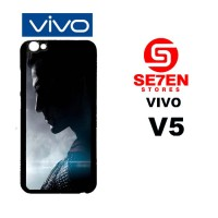 Casing HP VIVO V5 Batman V Superman wallpaper Custom Hardcase Cover