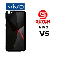 Casing HP VIVO V5 black iphone 6 Custom Hardcase Cover