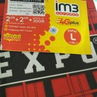 paket data kuota M3 4G plus 24GB INTERNET indosat oredoo all indonesia