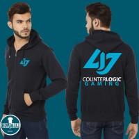 Hoodie Zipper Counter Logic Gaming - 313 Clothing