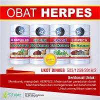 de Nature - Obat Herpes Genital / Herves Simplex - Alami Aman Ampuh
