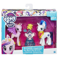 My little pony Friendship pack Princess Cadance and Shining armor