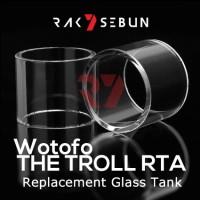 Jual Wotofo The Troll RTA Glass Kaca Replacement Pyrex Tank Gelas 24 Murah