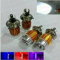 "Lampu LED motor mobil socket H4<br />  HS1 angel eyes grade a++"" ></td> <td>Lampu LED motor mobil socket H4<br />  HS1 angel eyes grade a++</td> <td>Rp45.000</td> </tr> <tr> <td><img class="