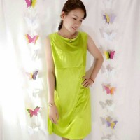 harga Home Comfy Lingery Dress - Green/hijau Tokopedia.com