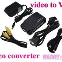 CONVERTER VIDEO TO VGA / AV TO VGA / RCA TO VGA