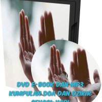 DVD E-Book Dan MP3 Kumpulan Doa Dan Dzikir Sehari-hari