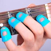 Jual 4pcs Finger Pick Silikon Pelindung Jari Untuk Memetik Gitar Murah