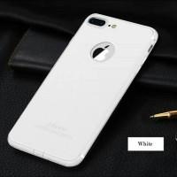 Case iPhone 7/7 Plus +/6/6s/5/5s Slim Silicone Casing White [Premium!]