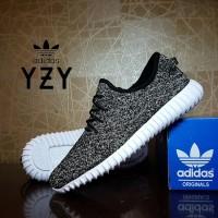 0fedd646ff6 sepatu casual adidas yeezy boost 350 GREY premium   couple pria wanita