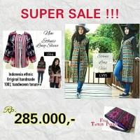 Super Sale Paket Hemat Blazer Tenun Cardigan Long Vest Cardi Batik