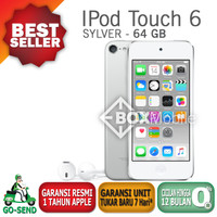 Jual Ipod Touch 6 64Gb Sylver Garansi Apple Murah