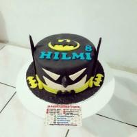 kue ulang tahun batman cake fondant