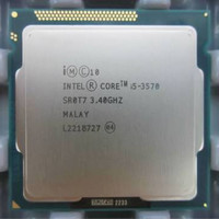 Processor core i5 3570 tray + fan ori1155
