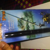 Alat Pancing Pena Pen Fishing Rod Set Tongkat Joran Ikan Portable Kit