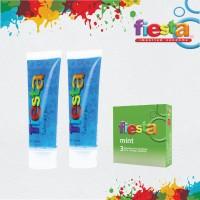 Fiesta Lubricant 70 mL (2 Pcs) - Gratis Kondom Fiesta Mint Isi 3