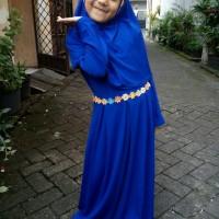 Gamis Anak Shofia XXL Baju Muslim Anak Perempuan lucu simple murah