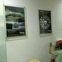 Jual Frame Poster A2 Acrylic 3mm clear 48cm x 66 cm Murah