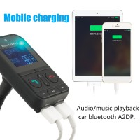 640C Bluetooth audio music MP3 Player for Car with LCD Screen Display