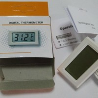 Termometer Digital + Probe (fish tank, Kulkas, Chiller, Cold Storage