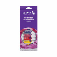[terlaris] REEVES Oil Colour Paint Set 12 pcs